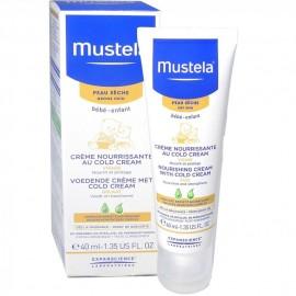 Mustela Bébé cold crème (40ml) (Mustela Bébé Crème nourrissante au Cold Cream (40 Ml)