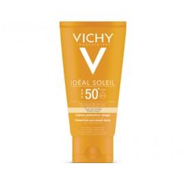 Vichy Idéal Soleil Crème Teinté Adultes IP50 peaux normales à sèches (50 Ml)