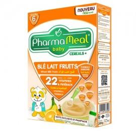 Pharmameal Céréale Blé Lait Fruits (200 grs)