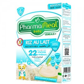 Pharmameal Céréale Halal Riz Lait Sans Gluten (200 grs)
