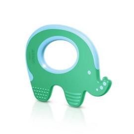 Avent Anneau de Dentition Eléphant Vert (3 mois et plus)