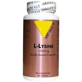 Vit'all+ L-Lysine (1000mg) 60 Comprimés