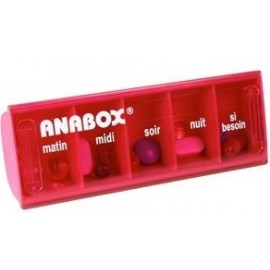 Anabox Pilulier Journalier (5 Cases)