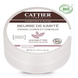 Cattier Beurre De Karite Nature (100g)
