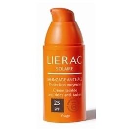 Lierac Solaire Bronzage Anti-Age (Spf25) Crème Teintée Anti-Rides Et Anti-Tâches