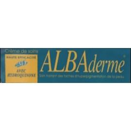 Albaderme Crème Eclaircissante Haute Efficacité avec Hydroquinone(50 Ml)