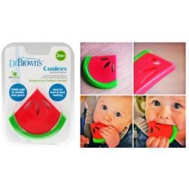 Dr Brown's Anneau De Dentition Pastèque Coolees Sans BPA