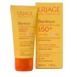 Uriage Bariésun Crème Solaire Teintée Claire Spf 50 +( 50ml )