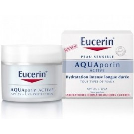 Eucerin Aquaporin active hydratation intense longue durée spf25 (50 ml)