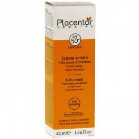 Placentor Végétal Crème Solaire Invisible (SPF 50+)