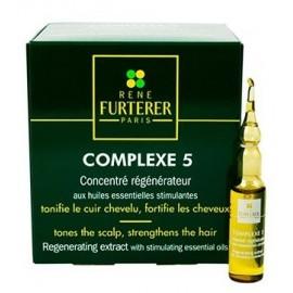 René Furterer Complexe 5 Régénérateur Cuir Chevelu Coffret 12 Ampoules