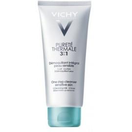 Vichy Pureté Thermale Lait Démaquillant Intégral 3 en 1 Peau sensible ( 200 ml)