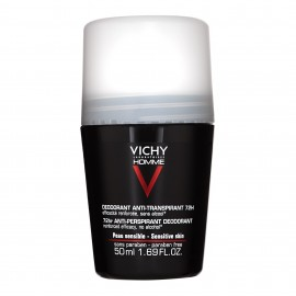 Vichy Homme Déodorant Anti-Transpirant 72h Roll-on (50ml)