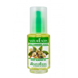 NatureSoin Huile D'amandes Douces (50ml)