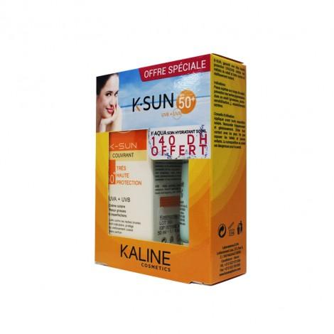 Kaline créme solaire spf 50 +Kaline K-Aqua Soin Hydratant (50ml)