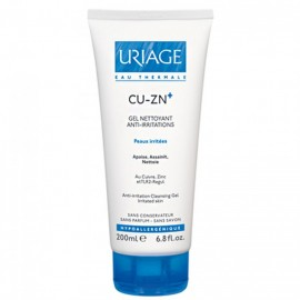 Uriage CU-ZN Gel Nettoyant Anti-Irritations 200ml