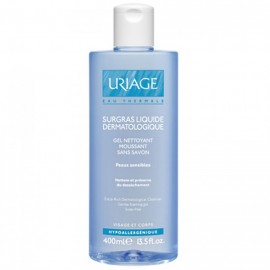 Uriage Gel Surgras Liquide Dermatologique 400 ml