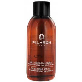Delarom Huile Tonifiante A L'orange (100ml)