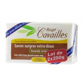 Rogé Cavaillès Savon Surgras Extra Doux Amande Verte 2 X 250g