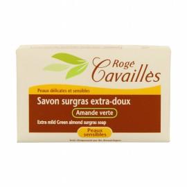 Rogé Cavaillès Savon Surgras Extra-doux Amande Verte 150g
