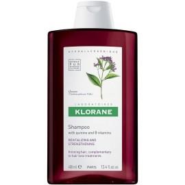 Klorane Shampoing Traitant Fortifiant à la Quinine et Vitamine B6 (400 ml)