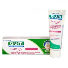 Gum Dentifrice Gencives Paroex Gel 75ml Réf 1770
