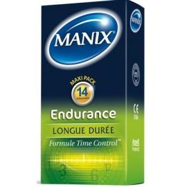 Boîte de 14 Préservatifs Manix Endurance