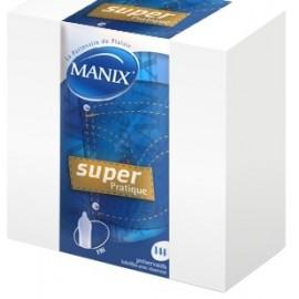Boîte de 4 Préservatifs Manix Preservatifs Super Pratique