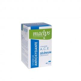 Maelys Sélénium Organique ACE Antioxydante 60 Gélules