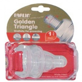 Farlin Tétine Silicone Stretchy Col-Large Taille S /2pce P-3