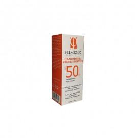Fiderma Ecran Solaire Minéral spf50 (Crème Teintée) 50 ml
