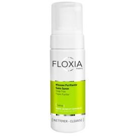 Floxia Sativa Mousse Nettoyante Purifiante Sans savon 150 ml