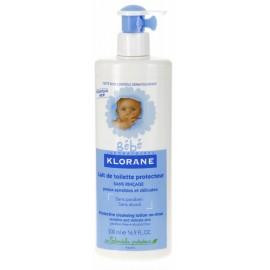 Klorane Bébé Lait de Toilette Protecteur sans rinçage 500 ml