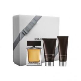 Coffret Dolce & Gabbana The One : Eau de toilette 100ml + Baume Après Rasage 75ml + Gel Douche parfumé 50ml