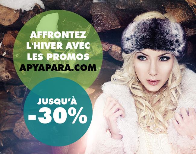 Affrontez l'hiver avec les promos apyapara.com