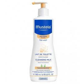 Mustela Lait de toilette peau sèche (500 Ml)