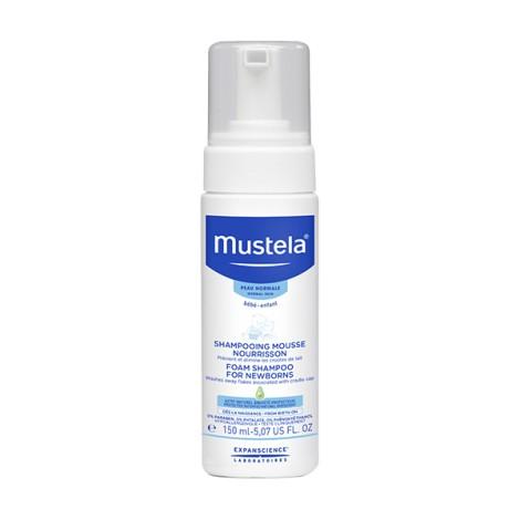 Mustela Shampooing Mousse Nourrisson Diffuseur 150ml