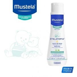 Mustela STELATOPIA Huile de bain lactée (200 ml)