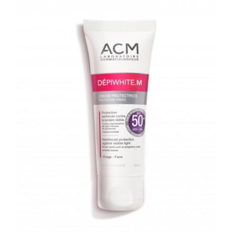 Acm Dépiwhite.M Crème Protectrice Invisible Spf 50+ ( 40 ml )