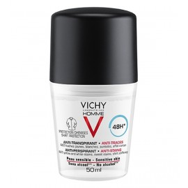 Vichy Homme Déodorant Anti-Transpirant 48h Roll-on Anti-traces (50ml)