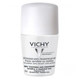 Vichy Déodorant Anti-Transpirant 48H Bille Peau Sensible ou Epilée(50ml)