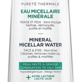 Vichy Pureté Thermale Eau micellaire minérale peau mixte à grasse ( 200 ml)