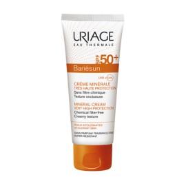 Uriage Bariésun Crème Minérale Peaux Allergique Spf 50+ (50 Ml)