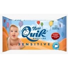 NewQuik Babycare Sensitive (72 lingettes) Bébés