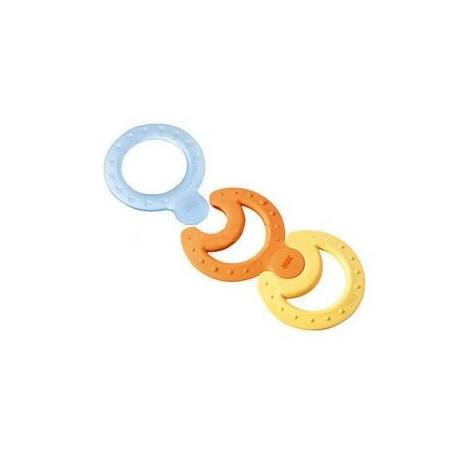 NUK Set de 3 anneaux de dentition