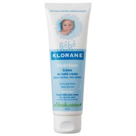 Klorane Crème Nutritive au Cold Cream Pour Bébé (40 ml)
