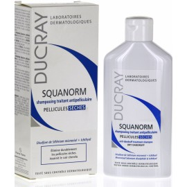 Ducray Squanorm Shampoing Pellicules Sèches (125ml)