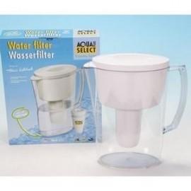Aqua Select Carafe Filtrante 2.5 L (1 Filtre Inclus)