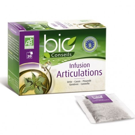 Bio conseils Infusion Articulation 20 Sachets
