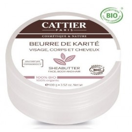 Cattier Beurre De Karite Nature (100g)